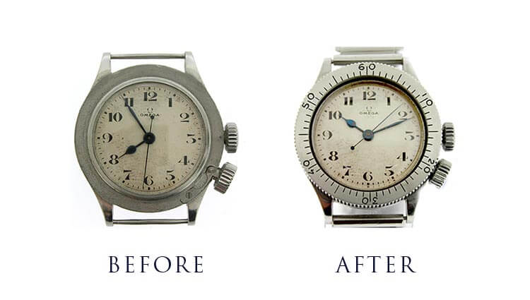 Bezel and Watch Restoration