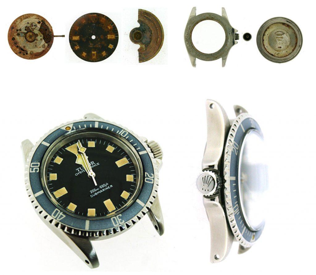 Tudor vintage watch restoration